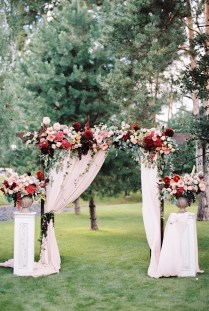 30 Best Floral Wedding Altars & Arches Decorating Ideas – Stylish
