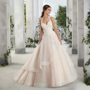Halter Top Wedding Dresses Plus Size