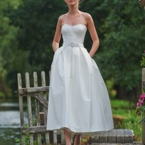 Midi Wedding Dress