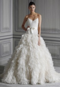 Monique Lhuillier Wedding Dresses Spring 2012 Bridal Collection