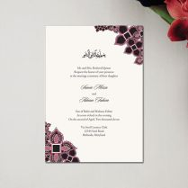 Nikah Ceremony Cards (12 Images) – Usha Greetings