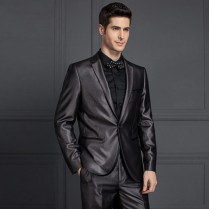 Notch Lapel Guangzhou Mens Designer Tuxedo Mens Slim Fit Suits