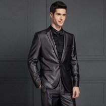 Notch Lapel Guangzhou Mens Designer Tuxedo Mens Slim Fit Suits