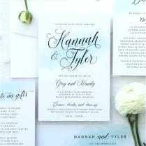 Printable Wedding Invitation Kits – Healthandfitnessart Info