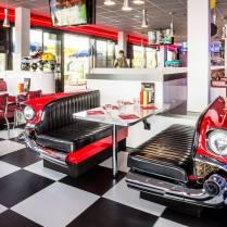 New Retro Cars Ecconomy Car Booth