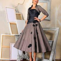 2016 Vintage Mother Of The Bride Dress With Wrap Women Wedding