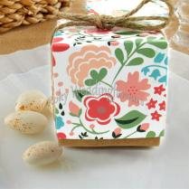 Vintage Floral Favors Boxes Wedding Gifts Floral Candy Box Favors