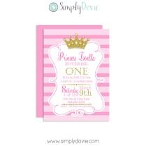 Royal Princess Birthday Invitation