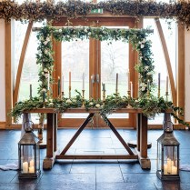 Styling Mythe Barn With The Rustic Wedding Company