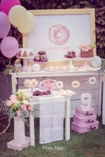 Vintage Donut Birthday Party