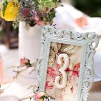 Wedding Wednesday Vintage Table Number Diy