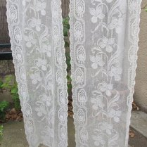 Vintage Lace Curtains As Childrens Curtains