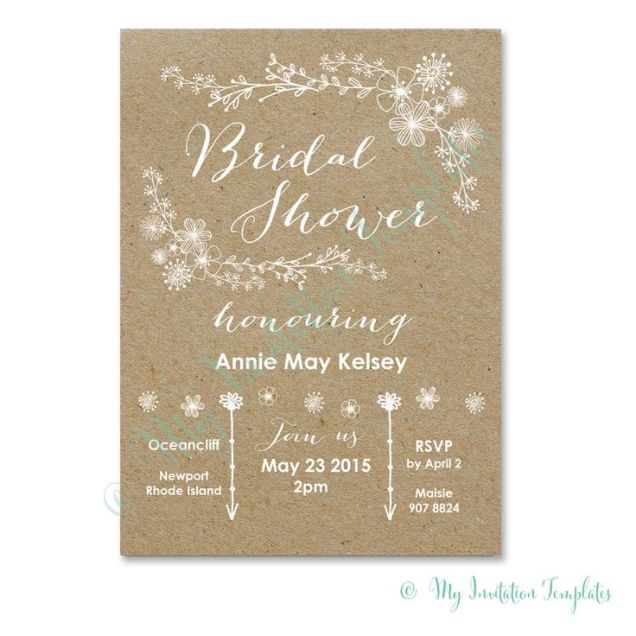 Wedding Shower Invitation Wording