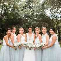 11 Examples Of Mix And Match Bridesmaid Dresses Done Right