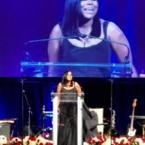 Tabatha Moore Honored At Black Tie Gala For 10 Years Of Dedication