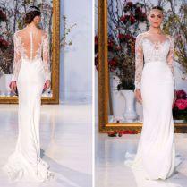 Fabulous Illusion Wedding Dresses You Will Like