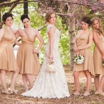 Erin Coleman Scarlet Replica Wedding Dress And Champagne Jersey