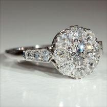 Art Deco Engagement Rings 176 Best Vintage Images On Emasscraft Org