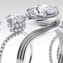 Designer Engagement Rings And Unique Wedding Bands By Danhov