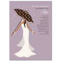 Unique African American Bridal Shower Invitations From