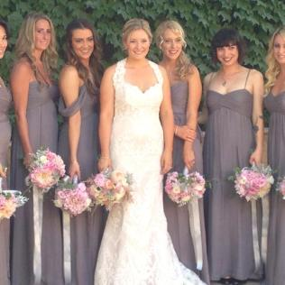 Where To Find Bridesmaid Dresses In Same Color But Different Style