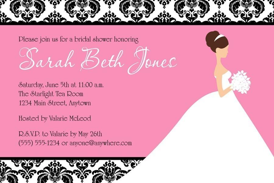 Electronic Wedding Invitation: Free Electronic Bridal Shower Invitations
