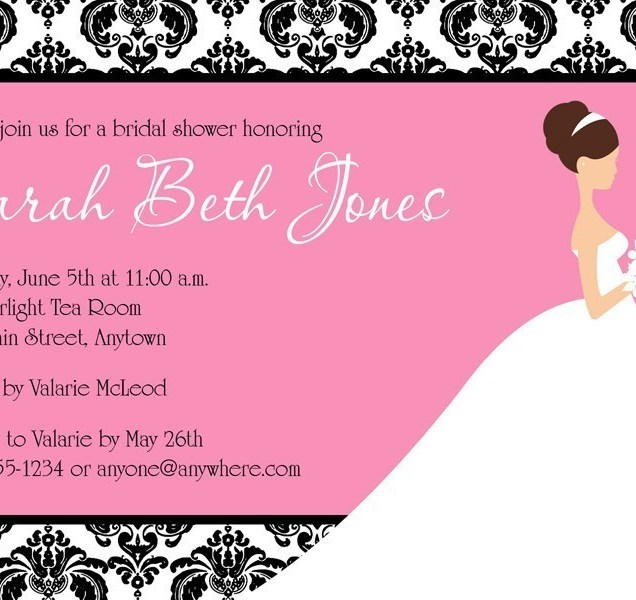 Free Electronic Wedding Invitations Templates: Free Electronic Bridal Shower Invitations