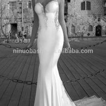 Tight Lace Mermaid Tail Wedding Dress