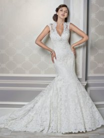Cap Sleeve Wedding Dresses Houston Vintage Flores Para Noivas Sexy