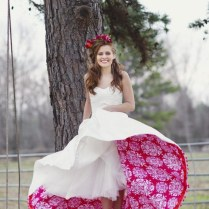 Colored Petticoat Under Wedding Dress Archives Ymcmb Hoodie