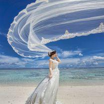Flying Veil – Magical Bridal Session