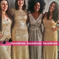 Exqusite Sparkly Sequins Bridesmaid Dresses 2016 Sorella Vita Mix