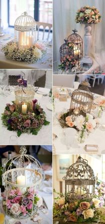 30 Birdcage Wedding Ideas To Make Your Wedding Stand Out