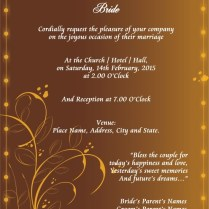 Free Editable Wedding Invitation Cards Editable Wedding Invitation