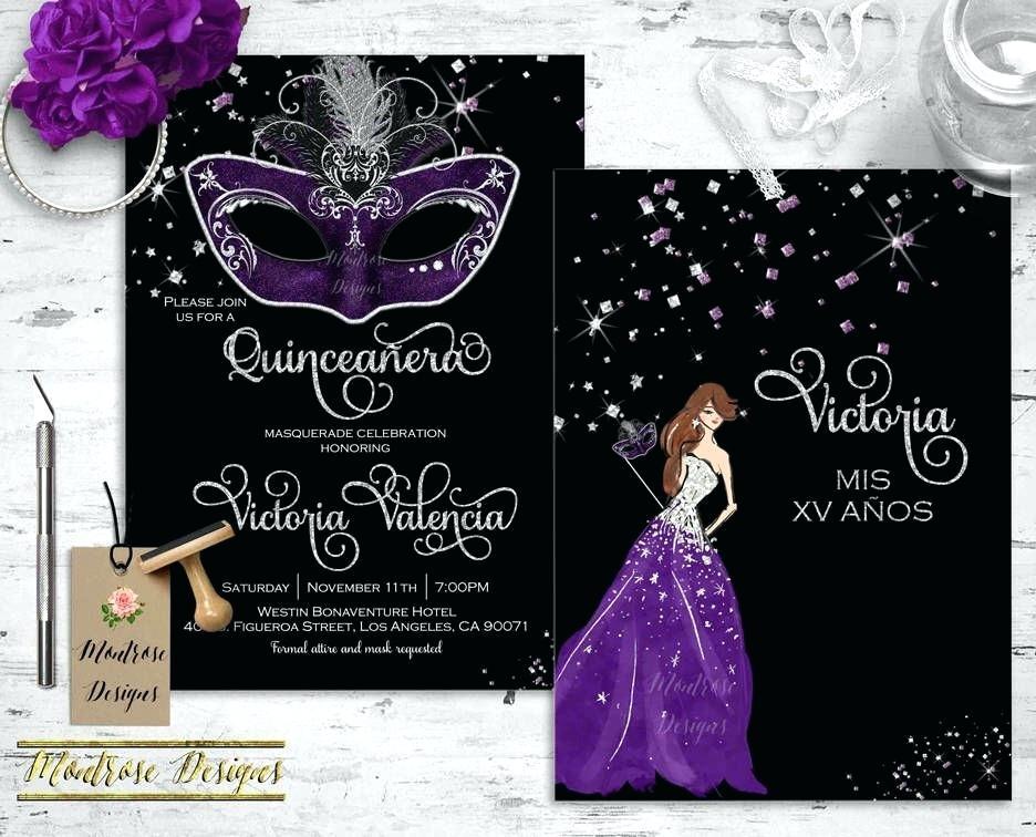 Masquerade Invitation Wording