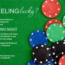 Casino Night Invitation Wording Ideas From Purpletrail