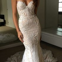 Tight Fitted Wedding Dresses