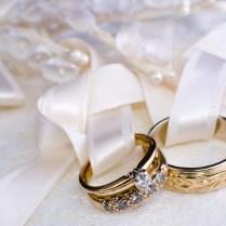 Vintage Design Gold Ring Set Wedding Rings Pictures