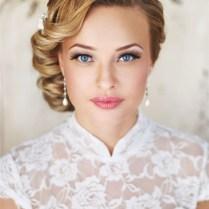 Vintage Wedding Updo Hairstyle