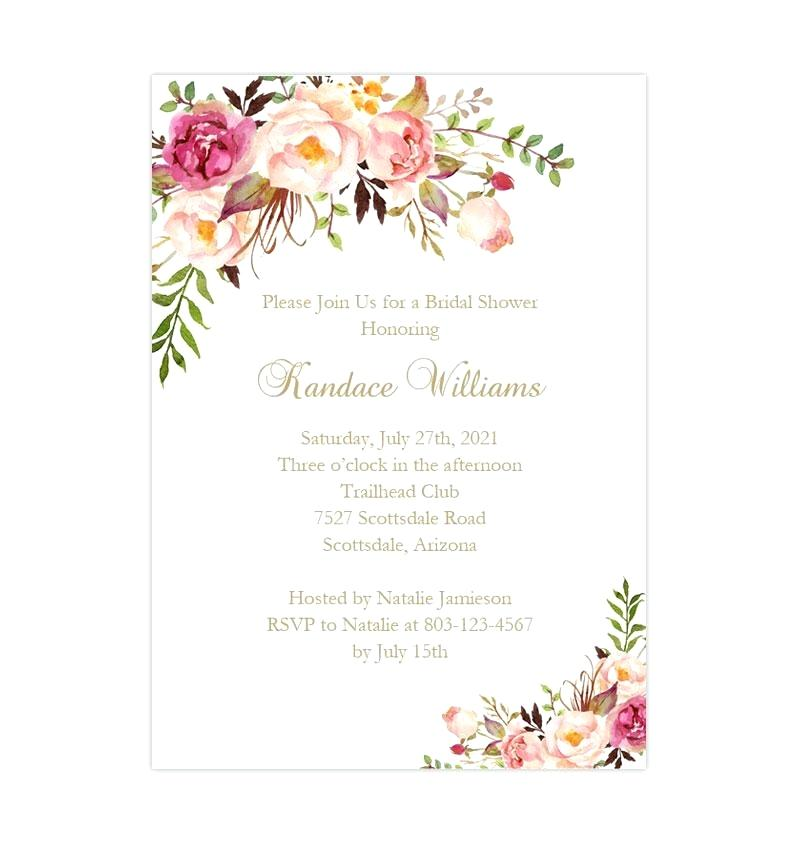 photograph regarding Free Printable Bridal Shower Invitation Templates for Word called Absolutely free Printable Wedding ceremony Shower Invitation Templates