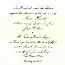 1913 A White House Wedding • History Of Gamma Phi Beta