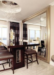 Decorate Using Oversized Mirrors