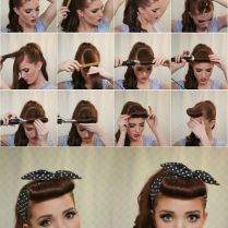50s Hairstyles For Long Hair Tutorial