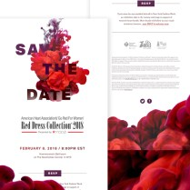Save The Date Email Invitation By Taylor Dunham