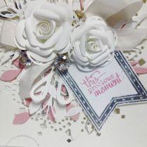 Roses & Ribbon Pink