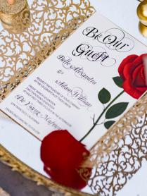 Beauty And The Beast Wedding Invitations From Festdude And Get