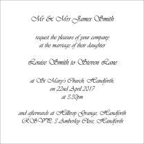 Cartoon Couple Illustration Wedding Invitations