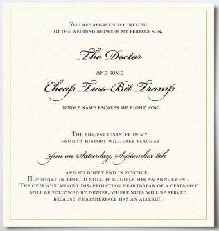 Casual Wedding Invitation Wording Couple Hosting Fun Wedding