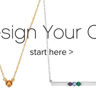 Customer Birthstone Jewelry With Real Gemstones
