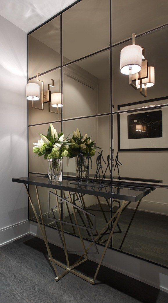 Fun And Creative Ideas Of Wall Mirrors In The Hallway